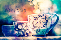 Simple Pleasures (Imagemakercan - The Lensdancer) Tags: scale cherries cups