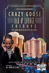 Join us for some Hip-Hop, Old School & House this Friday, July 29, at Crazy Goose (formerly Quality Social, 789 6th Ave, on 6th & F)! NO COVER 10pm-2am. Featuring DJ WAISTLINE. (See www.MRP.club for info on this and other upcoming events!) [#SanDiego #SD (markrondeaupresents) Tags: housemusic gaslampsd sdcc hiphop crazygoosesd sdnightlife socal crazygoose sdsu usd crazygoosebar sddj dtsd comeplay daygo markrondeaupresents mesacollege edmsd sdclubbing sd ucsd sdhiphop sixonenine openformat sandiego sdliving gaslamp sdreader mrp hiphopmusic
