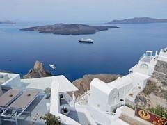 Santorini (Grecia, Greece) (Daniel Vinuesa) Tags: santorini thira fira greece grecia hellas griecheland white deluxe vulcan sea mediterranean wwwvinuesacom wwwviajesparatorpescom hdr danielvinuesa