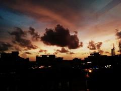 Skies of Manipal (Sunaina Puri) Tags: sky skies could sunset
