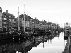 Copenhagen 2016 (hunbille) Tags: denmark copenhagen kbenhavn nyhavn harbour canal new reflection boat ship ships boats