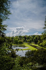 Studley Royal Water Garden (tbnate) Tags: tbnate nikond5100 d5100 nikon landscape water watergarden studley studleypark park trees tree clouds sky yorkshire northyorkshire outdoor outside nature royal lake sun