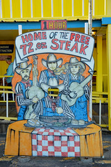 Free 72 oz steak (radargeek) Tags: thebigtexan amarillo texas tx headinthehole steakranch cowboy cowboyhat