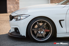 "RAYS VOLK Racing TE37SL Pressed Graphite - BMW 4 Series Grancoupe • <a style=""font-size:0.8em;"" href=""http://www.flickr.com/photos/64399356@N08/28574375386/"" target=""_blank"">View on Flickr</a>"