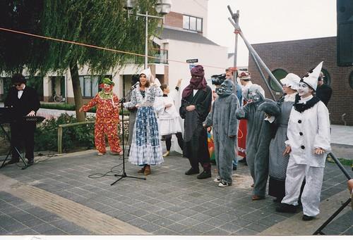 199510 Opening bibliotheek Voorhout kl