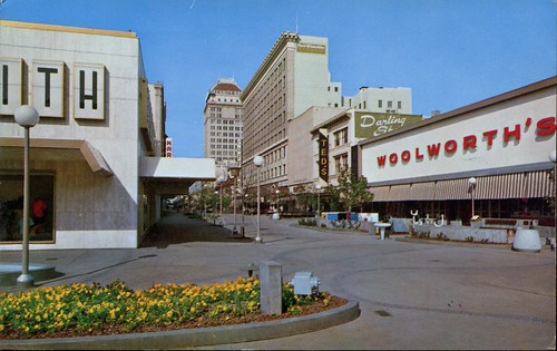 Shopping District, Fresno, California