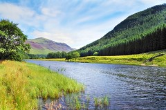 Glen Lyon and the river Lyon (eric robb niven) Tags: ericrobbniven scotland glenlyon perthshire landscape summerwatch summer nature
