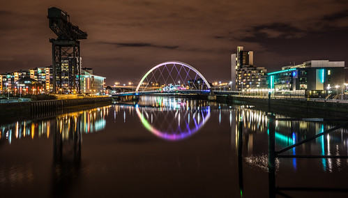 Clyde arch, Glasgow, Scotland by j0sh (www.pixael.com), on Flickr