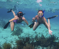 Snorkel Fun in Cayman (crystal.charters) Tags: blue girls sea sun white fish water coral swimming swim fun island happy photography islands boat photo sand perfect paradise underwater snorkel crystal outdoor turquoise under dive free grand diving snorkeling waters caribbean cayman reef charter charters