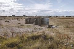 oddity revisited (I AM JAMIE KING) Tags: abandoned beach strange coast desert shed rusty odd dungeness coastline oddity deserted