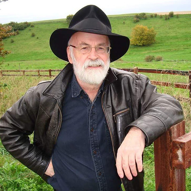 RIP TERRY PRATCHETT. Thanks for the laughs.
