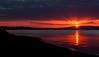 Stunning Sunset! (Photographer Dave C) Tags: uk sunset sea sky usa sun seascape color colour beauty weather canon landscape spring amazing cool awesome bangor warmth stunning sunsetavenue northernirealnd welltravelled belfastlough nisky canon400d mymindseye skytheme sunsetlovers mygearandme walkni