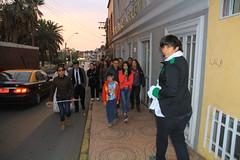 Acompañando la historia en las calles de Arica