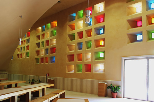 Padre Pio Church dining area