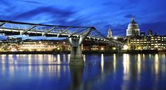 Millenium Bridge (Hamish McBeth) Tags: bridge london thames milleniumbridge riverthames milleniumbridgestpauls pp6899