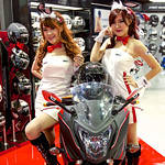 Sexy presenters for Proto Index helmets at the 36th Bangkok International Motor Show thumbnail