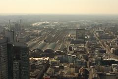bahnfof (dmytrok) Tags: sky tower skyscraper germany deutschland hessen frankfurt main frankfurtammain maintower skyliners skyliner