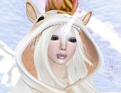 dreamy unicorn (Boo is me - who is you?) Tags: woman girl hair skin avatar young avatars teen fantasy lamb shape unicorn ndmd