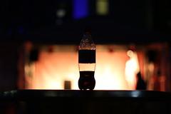 IMG_7401 (Crab2222) Tags: pink blue light bw black london eye tower yellow night towerbridge dark 50mm lights big bottle purple angle ben bokeh south wide bank londoneye bigben coke wideangle tunnel southbank knight lamplight cocacola diet dslr 11pm darknight lamplights 70d