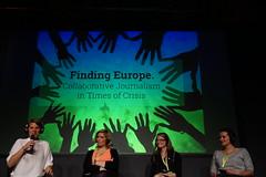 Plädoyer für mehr Zusammenarbeit von Korrespondenten in Europa auf der #rp15