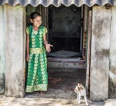 Demure ! (Mahendiran Manickam) Tags: street girl village streetphotography shy cwc chengelpet chennaiweekendclickers chettipunniyam mahemanickphotography