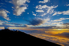 Haleakal High Altitude Observatory Site (pbuschmann) Tags: hawaii space maui observatory haleakala