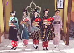 Hanafusa Okiya July (Shikomi Ayumi) Tags: july maiko geiko secondlife okiya hanafusa misedashi shikomi miyagwacho omisedashi