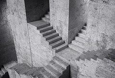 And she's buying a stairway to heaven (Luc H.) Tags: 3d stairway surrealist
