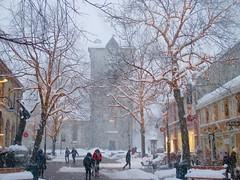 After Work (coltrain2011) Tags: trondheim norway vrfrueskirke nordregate wintertime