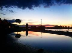 Bayonne (mrjcrr) Tags: city bridge sunset sky sun france water colors beautiful clouds landscape soleil eau view horizon ciel pont nuages paysage vue ville bayonne paysbasque sudouest adour erflet
