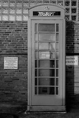 Red Telephone Gas Station Box B/W (EmoHoernRockZ) Tags: red rot de deutschland phone telephone gas gasstation payphone telephonebox telefonzelle schleswigholstein tankstelle redtelephonebox neumnster tankstation telephonekiosk mnztelefon emohoernrockz nychennecom alphaemo