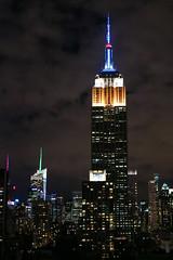 Empire State (nestor.ferraro) Tags: empire state new york usa united states skyscraper skyline nocturna canon m3 mirroless night