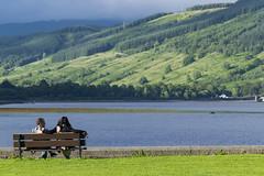 Vue sur le Loch Fyne depuis Inveraray
