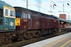 "West Coast Railway Company Class 47/0, 47237 (37190 ""Dalzell"") Tags: wcrc westcoastrailwayscompany maroondip brush sulzer type4 duff spoon class47 class470 47237 d1914 northwestern wigan"