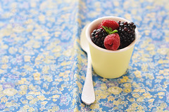 A little softness in this world (*steveH) Tags: fruit colorful berries pastel raspberry mulberry steveh