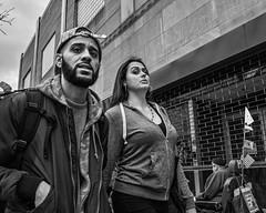 Market East, 2016 (Alan Barr) Tags: street people blackandwhite bw philadelphia monochrome mono candid group streetphotography sp streetphoto gr marketstreet ricoh marketeast 2016 marketstreeteast