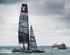 Land Rover BAR (Owen Davies Landscape Photography) Tags: americas cup portsmouth dutchess cambridge kate middleton prince william ben ainslie sailing southsea duke of royal family