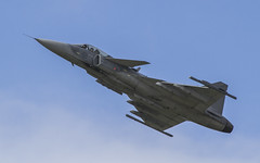 Saab JA37 Grippen (Hawkeye2011) Tags: aircraft aviation airshow military riat uk 2016 raffairford saab ja37 gripen swedish