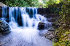 Overflow (canaimaman) Tags: canon canon750d waterfall water stream rocks reservoir trees flowing plants ndfilter 10stop tamron 1750f28 nature woodland park