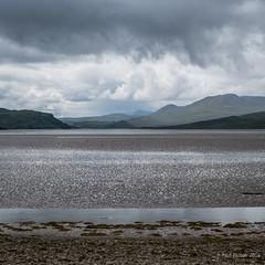 Rain at the Kyle of Tongue (Paul Perton) Tags: rain scotland overcast kyleoftongue fuji35mmf14 fujixpro2