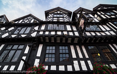 The Bull Ring Tavern c1400 - Ludlow, Shropshire (www.chriskench.photography) Tags: england herefordshire travel xt1 adobe kenchie wwwchriskenchphotography lightroom fujifilm ludlow unitedkingdom gb tudor beams history samyang 10mm wideangle
