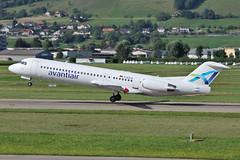 Fokker 100 D-AOLG Avanti Air (mm-photoart) Tags: fokker 100 daolg avanti air sc bern europa hockey league sport ice eis schlittschuh klub lszb brn belp belpmoos