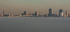 Cloud City (Chris Gaziano) Tags: fog lakemichigan milwaukee wisconsin
