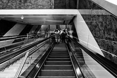 ACA_243 (www.arcigaandy.com) Tags: blackandwhitestreetphotography blackandwhite blackandwhiteportraits monochrome mirrorless metrostation dubaimetrostation creativecommons