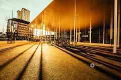 Gare la Chaux-de-Fonds (L'agriculteur Illumin) Tags: dylan koller chaux de fonds gare canon eos 5d mark iii sun lumire ombre vlo