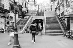 (Tom Plevnik) Tags: bnw blackandwhite candid city flickr human monochrome nikon metro new outdoor public people places photography paris street travel urban
