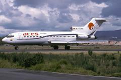 HK-3739X-1-SKBO-27SEP1997 (Alpha Mike Aviation Photography) Tags: bogota el dorado bog skbo aces colombia boeing 727 hk3739x
