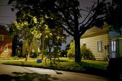 (Patrick J. McCormack) Tags: fuji gw690 kodak portra film 120 analog 6x9 street landscape glow house
