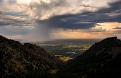 Storm rolling through Front Range. Boulder,  Colorado (Scottyseis) Tags: hiking getoutside boulder boulderco storm colorado denver frontrange hike clouds rain sunset southboulderpeak greenmountain canon6d canon1740