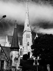 Eaglais Phreispitireach na Tronide, Corcaigh / Trinity Presbyterian Church, Cork (Rhisiart Hincks) Tags: ire eirinn rija iwerddon iwerzhon ireland irlanda   rorszg airija  duagwyn gwennhadu dubhagusgeal dubhagusbn zuribeltz czarnobiae blancinegre blancetnoir blancoynegro blackandwhite  bw feketefehr melnsunbalts juodairbalta negruialb siyahvebeyaz rnoinbelo    zwartenwit mustajavalkoinen crnoibelo ernabl schwarzundweis